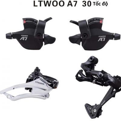 Bộ Group LTWOO A7 Tay bấm xả 30 tốc độ