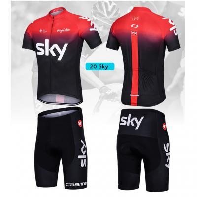 Quần áo xe đạp Bộ SKY đỏ